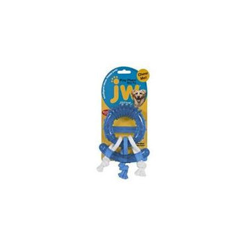 Doskocil Manfuacturing Company JW Play Place Ring Dog Chew Toy