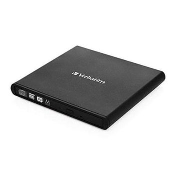 Verbatim 8X Dvd Write Speed, 24X Cd Write Speed USB Powered - No Need To Carry Additiona