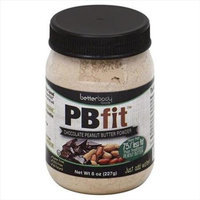 Better Body Foods PBfit Peanut Butter Powder Chocolate 8 oz