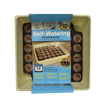 Jiffy Self-Watering Greenhouse Tray Kit 38 Count