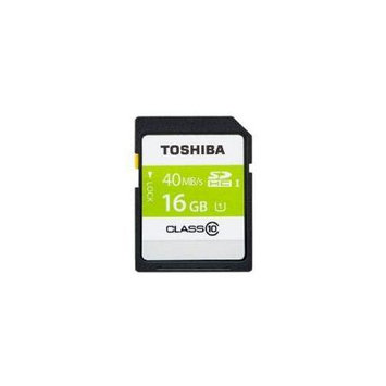 Toshiba 16GB SDHC CLASS 10 UHS-1 Memory Card