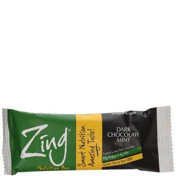 Zing Nutrition Bar-Dark ChocolateSunflower Mint-Box Zing Bars 12 Bars 1 Box