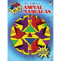 Dover Publications 'My First Animal Mandalas' Coloring Book