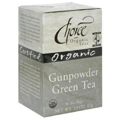 Choice Organic Teas BG11515 Choice Organic Gunpowder Tea - 1x2LB