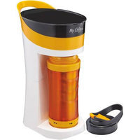 Mr. Coffee - Pour And Go Single-serve Coffeemaker - Orange