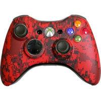 Microsoft Corp. Microsoft XiRUC Custom Xbox 360 Controller Red Urban