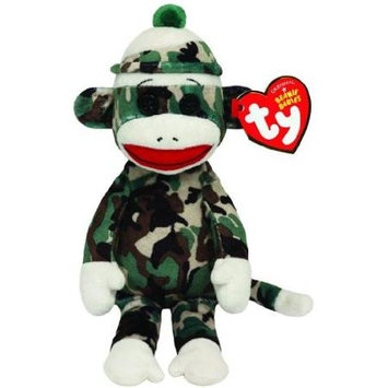 Ty, Inc. Ty - Beanie Babies Plush - Sock Monkey - Camouflage