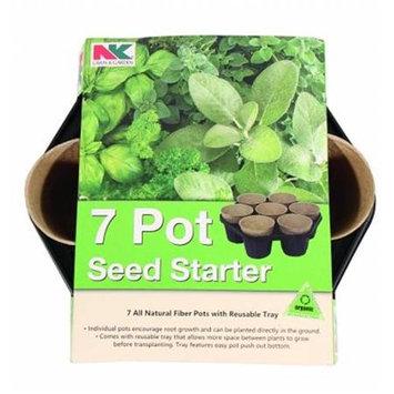 Jiffy Circular Tray With Seed Starting Pots