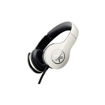 Yamaha Pro 300 High-Fidelity On-Ear Headphones, White