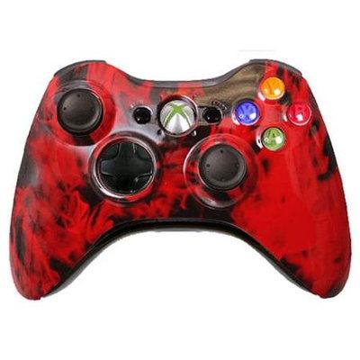 Microsoft Corp. Microsoft XiRFC Custom Xbox 360 Controller Red Fire