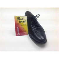 Helping Hand Company HU370B Elastic Shoe Laces - 2 Pair 37 In. Black