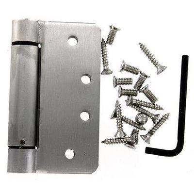 Stanleyhardware 6.62 x 4 Stainless Steel Spring Hinge