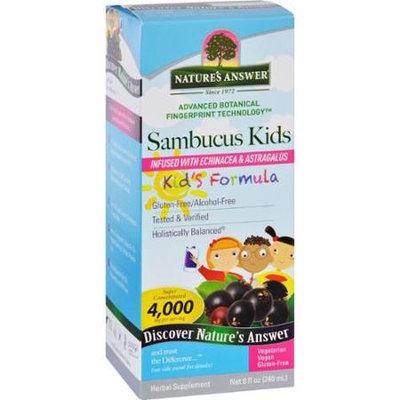 Nature's Answer SAMBUCUS KIDS FORMULA