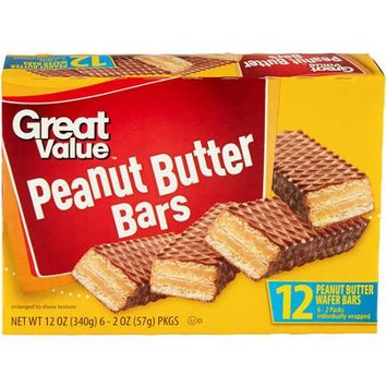 Great Value Peanut Butter Bars