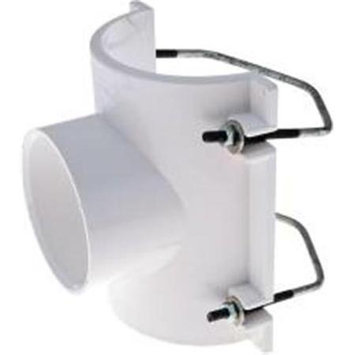 Ips Corporation 301001 Saddle Tee 4 In. X 3 In. Inlet -Pack of 2