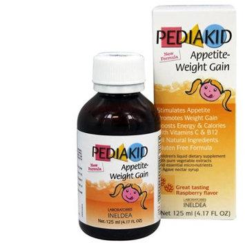 Pediakid - Appetite-Weight Gain Raspberry Flavor - 125 ml.