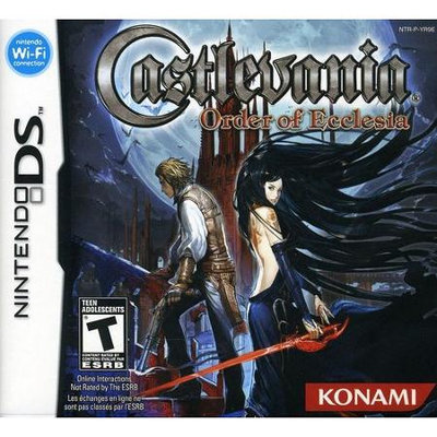 Konami Digital Entertainment Castlevania: Order of Ecclesia