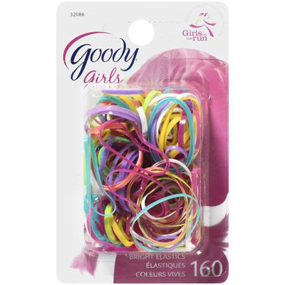Goody Girls Polybands Elastics, 160 CT
