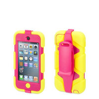 Griffin Technology - Survivor Case for 5th-Generation Apple iPod touch - Citron/Pink