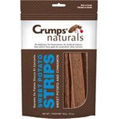 Crump Group Crumps Sweet Potato Strip Dog Treat Cinnamon