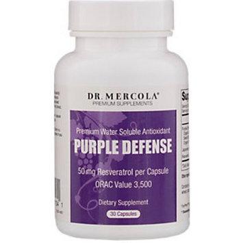 Purple Defense Premium Antioxidant by Mercola - 30 Capsules