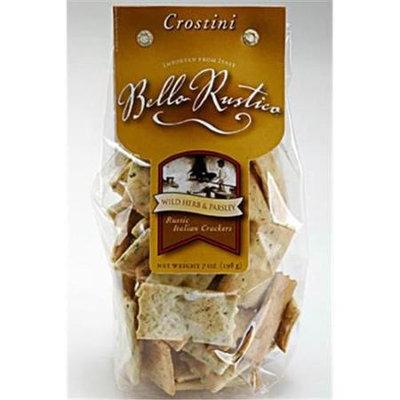 Bello Rustico 13010 7 oz. Crostini Herb Parsley Pack of 12