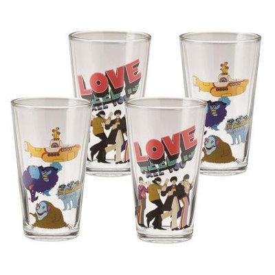 Vandor/lyon Company The Beatles Glass Set YS Love