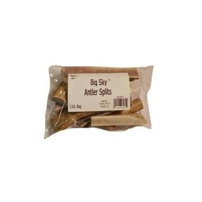 Scott-pet Scott Pet Products Big Sky Split Antler Chews 3-Lb. Bag