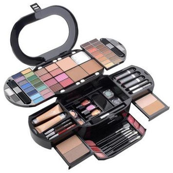 Shany Cosmetics Cameo Carry All Beauty Case by Shany 100pc Pro Make Up Set - Premium Collection