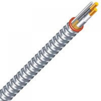 Southwire Company 55274923 12/2 x 100 AC Steel Armor Cable Steel Jacket - Type A