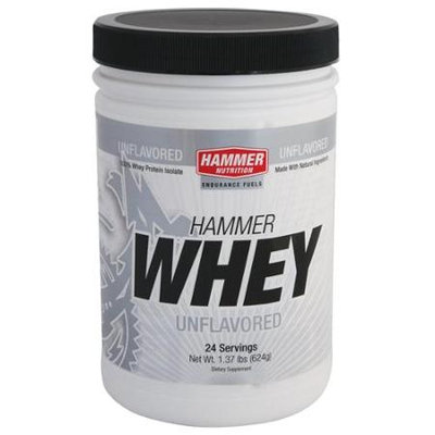 Hammer Nutrition Whey Protein Powder - 24 Servings (Unflavored)