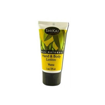 Shikai Products Hand and Body Lotion Yuzu Fruit -Trial Size Case of 12 1 oz