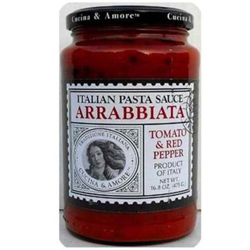 Cucina & Amore Arrabiatta Sauce (6x16.8OZ )
