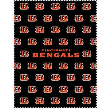 Siskiyou Sports FICC010 Bengals iPad Microfiber Cleaning Cloth