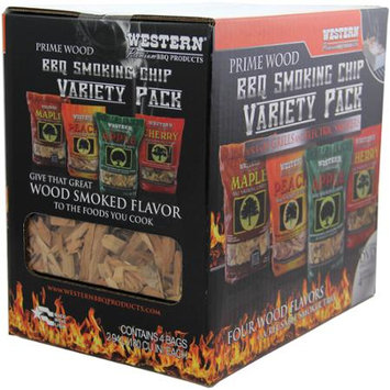 Western Prime Wood Smoking Chips Variety Pack