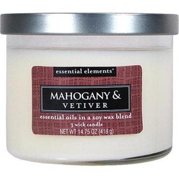 Candlelite Candle Lite 1542293 14.75 oz. Mahogany Candle