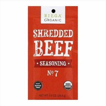 Riega Foods SEASN, OG2, SHRD BEEF, NO. 2, (Pack of 8)