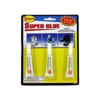 Kole Imports 3-Pack Super Glue(Case of 24)
