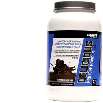 Giant Sports Delicious Elite Powder, Chocolate, 2 Pound