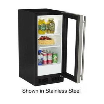 Marvel ML15RAS1RW 15 White Undercounter Built-In Compact Refrigerator - Energy Star - Right Hinge
