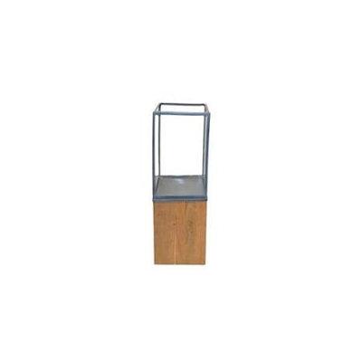 Rojo 16 595-L 10 x 10 x 32 in. Lantern Wood Pillar, Large