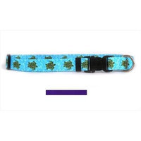 Yellow Dog Design PUR102M Solid Purple Standard Collar - Medium