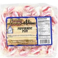 Family Choice 7.5 Oz Peppermint Puff 1136 by Rucker's Candy