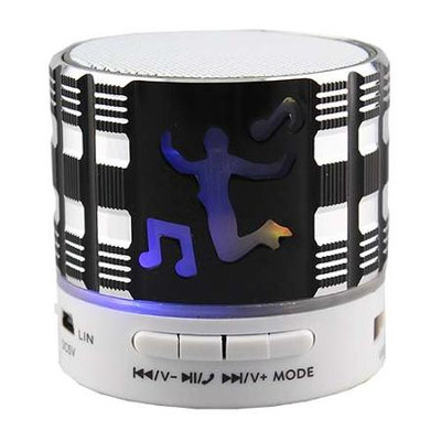 Supersonic BT Speaker w Speakerphone Blk SC-1460BTBLk