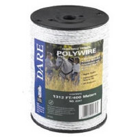 Dare Products Inc 1312 Foot White Poly Wire 2347 by Dare