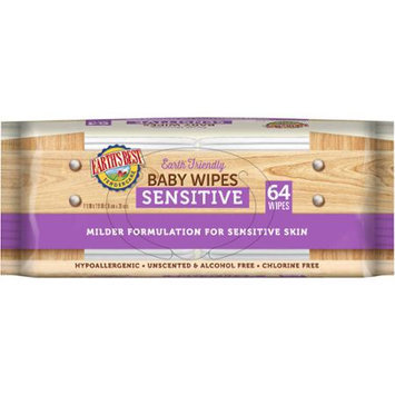 Hain Celestial Earth's Best Sensitive Wipes - 576 count