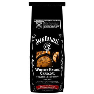 Misc Jack Daniels Whiskey Barrel Charcoal Briquets Smoker Blocks