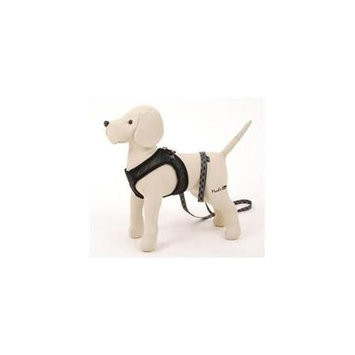 Pet Ego City Airness Harness and Leash for Dogs, Black, Small/Medium (13-14 in. Girth) - Black, Small/Medium (13-14 in. Girth) - AISS S/M BL