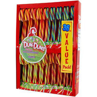Dum Dums Assorted Flavored Candy Canes, 36 count, 18 oz