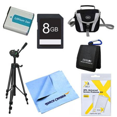 Special Pro 8GB Card and EN-EL5 Battery Kit for Nikon P510, P520